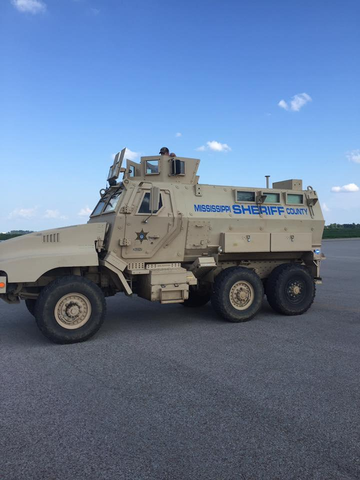 Special Response Team MRAP Vehicle